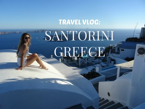 SUMMER VACATION VLOG: SANTORINI GREECE  | milsbeauty