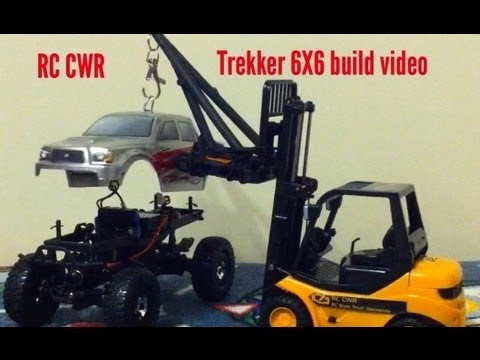 RC CWR - Part 1 Losi Trekker 6X6 build video axle mods