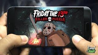 JOGO OFICIAL DE SEXTA FEIRA 13 PARA CELULAR -  Friday the 13th Killer Puzzl