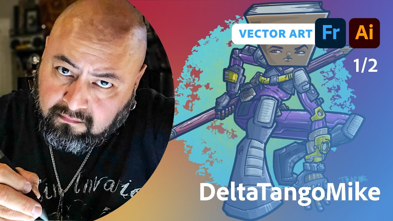 The Magic of Vector Brushes with DeltaTangoMike - 1 of 2
