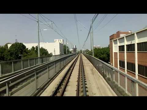 Sacramento Regional Transit: Gold Line Light Rail Cab Ride t