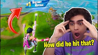 Reacting to the BEST Fortnite TRICKSHOTS...