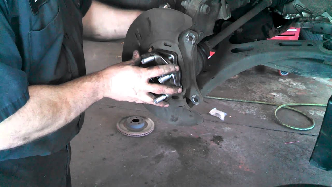 Front wheel bearing hub assembly subaru outback 2005 2014 legacy install remove replace how to youtube