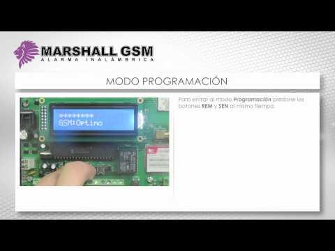 Marshall GSM - Central de Alarma