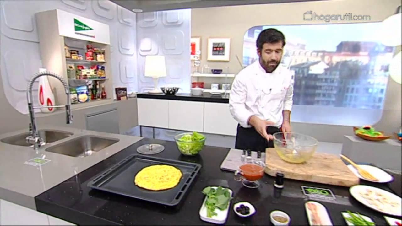 Cocina con bruno oteiza la pizza tortilla youtube - Cocina con bruno ...