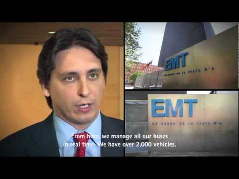Video Surveillance In Buses - EMT Madrid