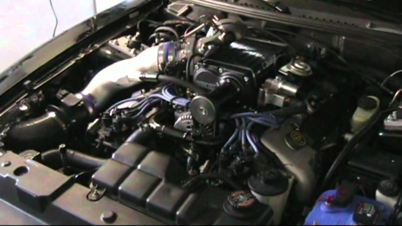 Supercharged 1998 Ford Mustang Cobra