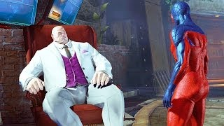 The Amazing Spider-Man 2 #07: Vs Kingpin + Traje Ricochet e Flipside - Playstation 4 (PS4) gameplay
