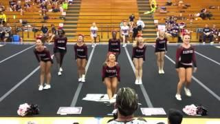 Radford Varsity Cheerleaders: 10-31-15