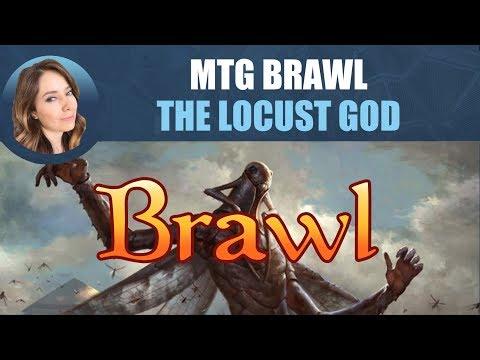 MTG Brawl - The Locust God / Magic: The Gathering