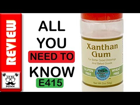 All you need to know about Xanthan Gum or E415 food additive | 20kgdown