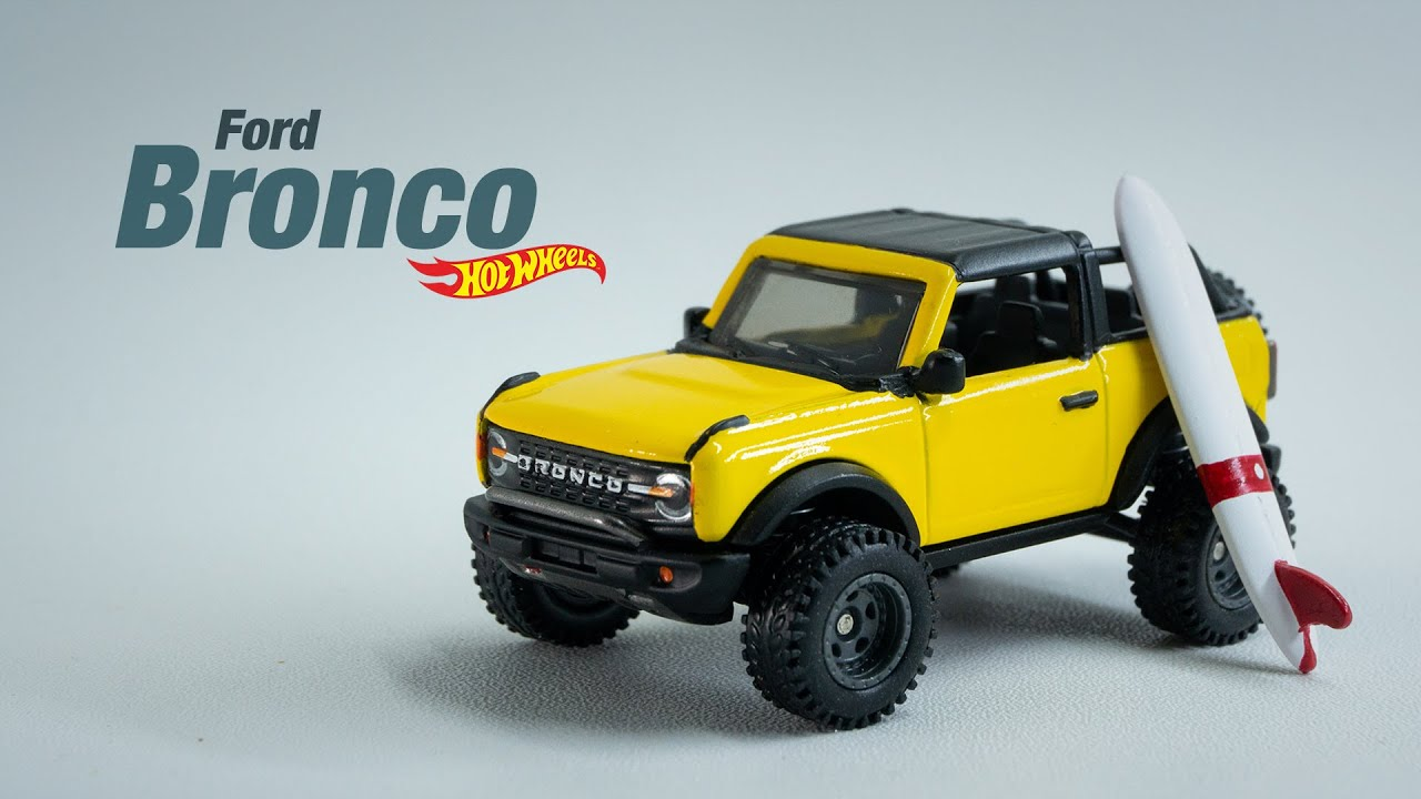 Ford Bronco Hot Wheels Custom