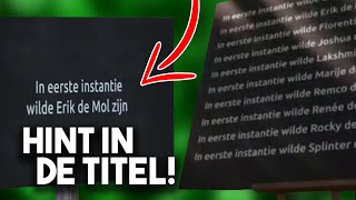 TITEL VERKLAPT DE MOL?! - Wie is de Mol? 2021 Hints (WIDM)
