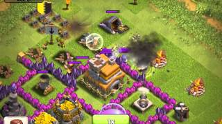 Clash of clans - Attack on my base, not much looted, only 10k of gold and elixir