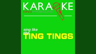Shut up and Let Me Go (In the Style of the Ting Tings) (Karaoke Instrumental Version)