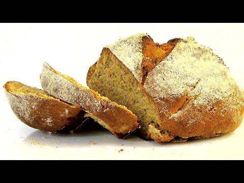Хлеб из ржаной муки без дрожжей - пошаговый рецепт с фото