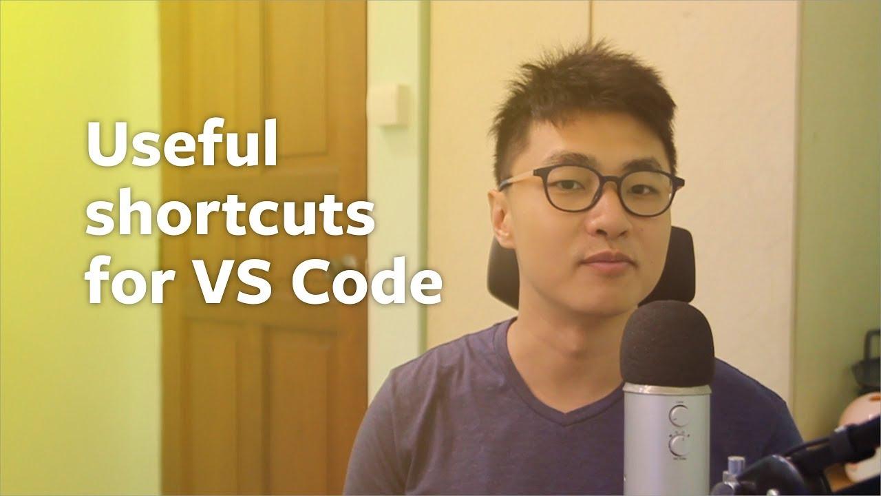 Useful VS Code keyboard shortcuts | Zell Liew