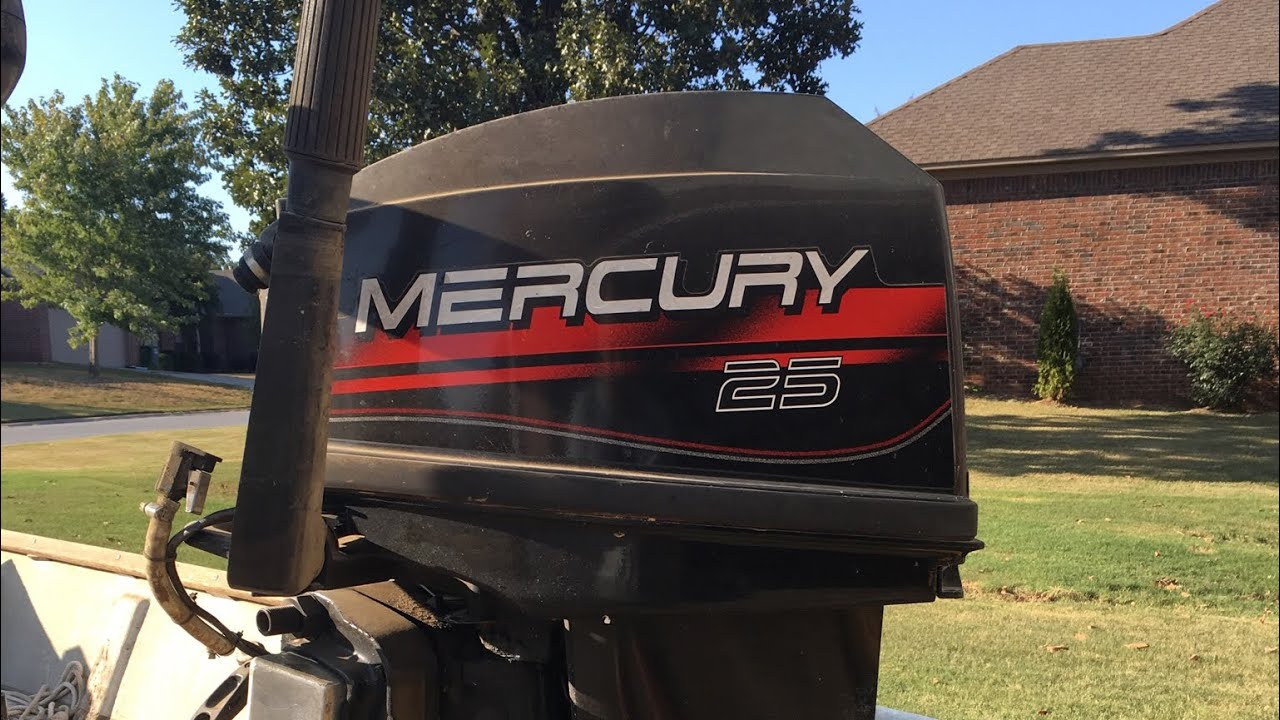 Mercury 25 Jet Resurrection & Water pump change