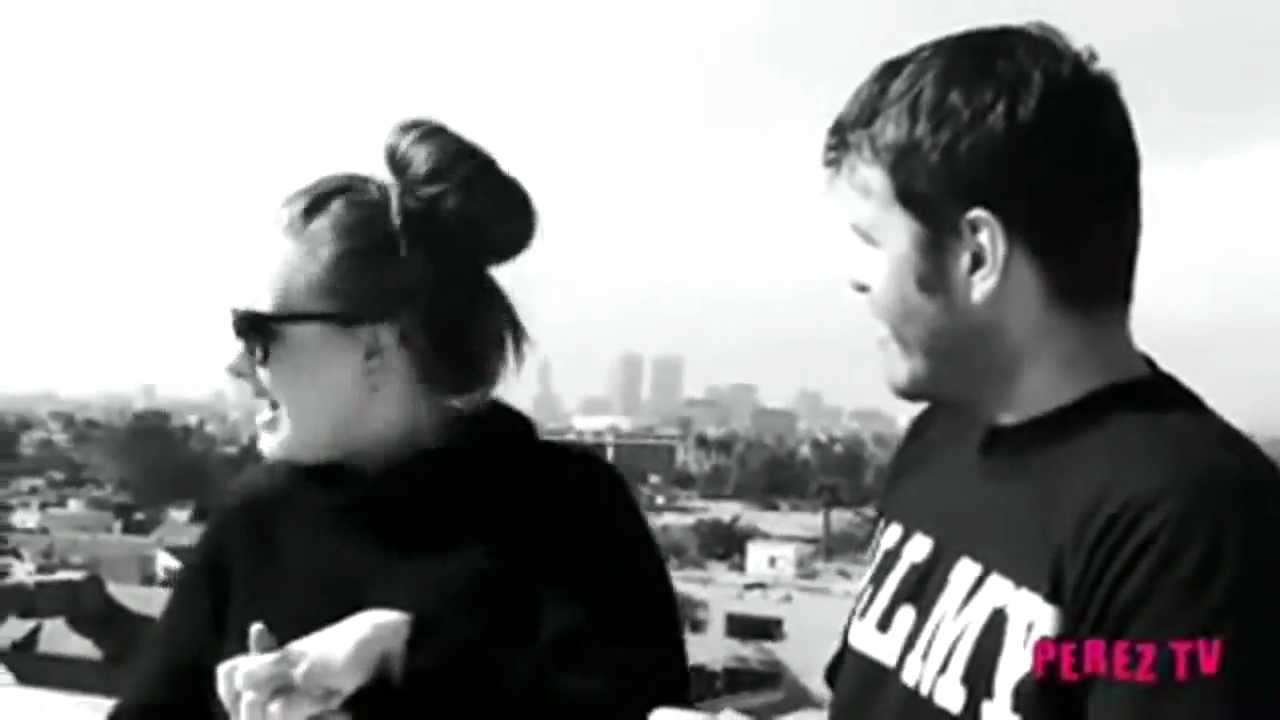 Adele Interview with Perez Hilton on a rooftop in Hollywood [December 14, 2010]