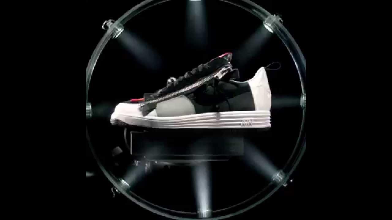 new concept 39777 696d7 NIKE Lunar Force 1 SP ACRONYM - BlackGrey Version - YouTube