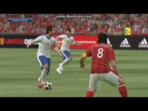 PES 2016 ile EURO 2016 | TÜRKİYE-HIRVATİSTAN  İlk Yarı