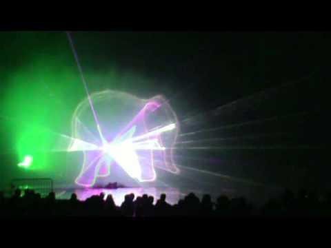 projection d 39 images laser sur cran d 39 eau youtube