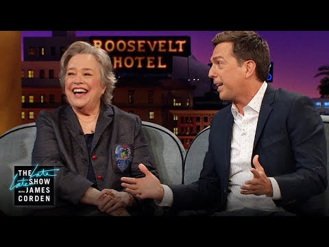 Ed Helms & Kathy Bates Have Different Spirit Animal Journeys