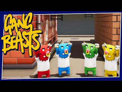Gang Beasts - #236 - ALL BEEF PATTY!! (New Update!!)