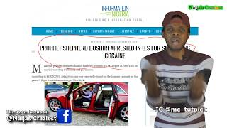 """Download Video Prophet Bushiri Arrested Smuggling """"Annointed"""" Cocaine At JFK Airport USA MP3 3GP MP4"""
