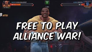 Free To Play Alliance War! - Luke Cage & Scarlet Witch Compilation - Marvel Contest Of Champions