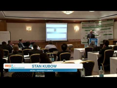 Stan Kubow   Canada   Food Safety 2015   Conference Series LLC