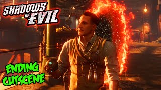 "Black Ops 3 Zombies ""Shadows of Evil"" ENDING CUTSCENE EASTER EGG! (BO3 Zombies)"