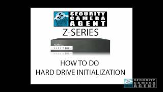 Z-SERIES HOW TO DO HDD FORMAT ON A H.264 DVR