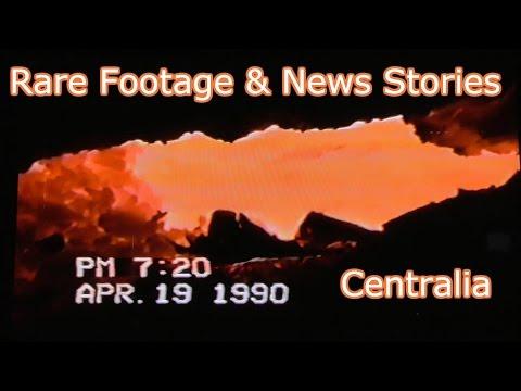 RARE Footage & News Stories - Centralia Mine Fire