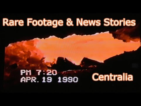 RARE Footage & News Stories - Centralia Mine Fire