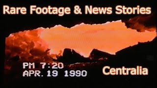 Gambar cover RARE Footage & News Stories - Centralia Mine Fire