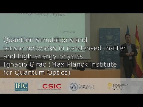 Quantum simulations and tensor networks in condensed matter and high energy physics