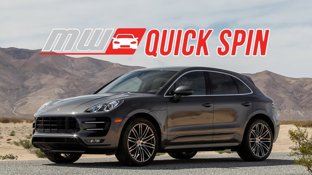 2018 Porsche Macan Turbo Performance Package Quick Spin