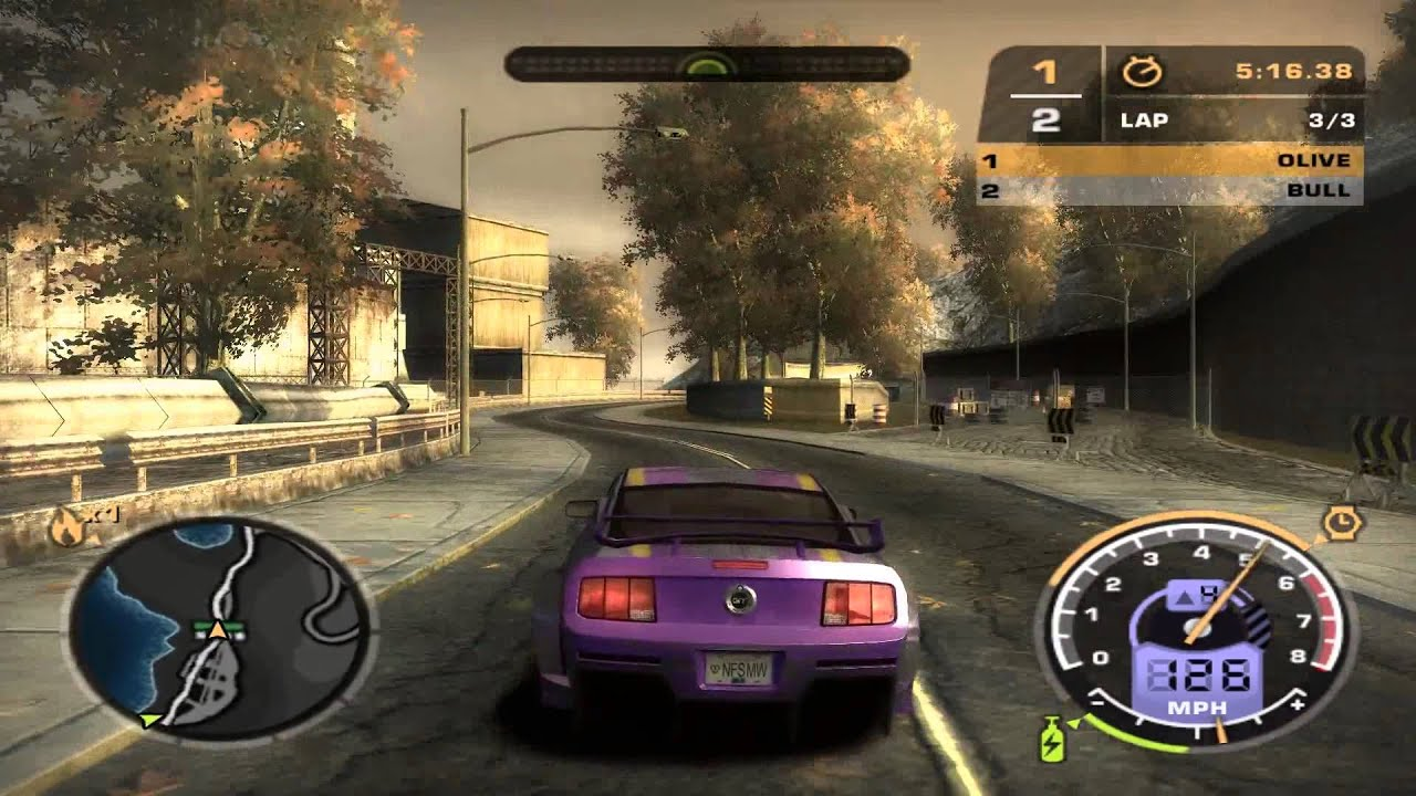 Let's Play Need For Speed: Most Wanted - 29. Vs. Blacklist ...