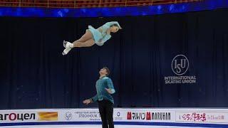 Александра Бойкова Дмитрий Козловский Короткая программа Пары Чемпионат мира по фигурному катан