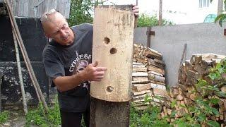 Как сделать манекен (деревянного человека) Вин Чун. Часть 3