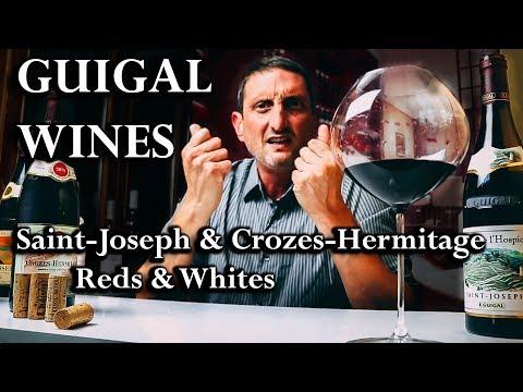 Guigal's Great Rhône Wines - Crozes Hermitage & Saint-Joseph Wines - click image for video