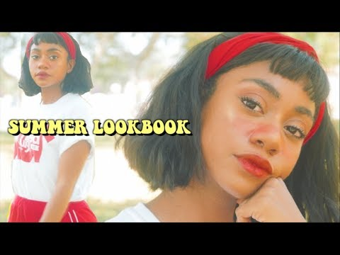 62e367803c6 SUMMER VINTAGE LOOKBOOK 2018 (80 s Inspired Outfits) - YouTube