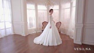 Популярное свадебное платье А силуэт  от VESILNA™ модель 3056