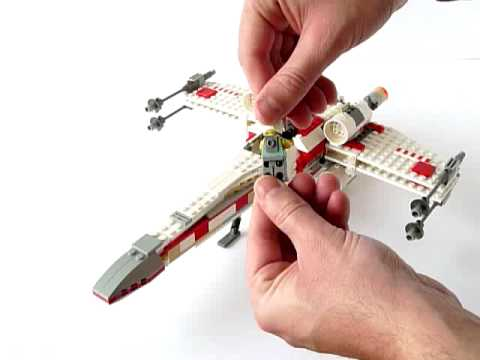 LEGO X-wing Fighter Instructions 4502, Star Wars Episode 4-6