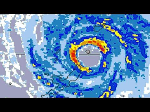 Typhoon DANAS in Okinawa-jima, Japan (2013)