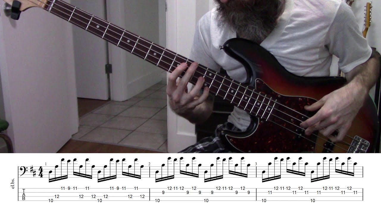 Js Bach Cello Suite No 1 In G Major Prelude Arranged For Bass Guitar W Notation Tab