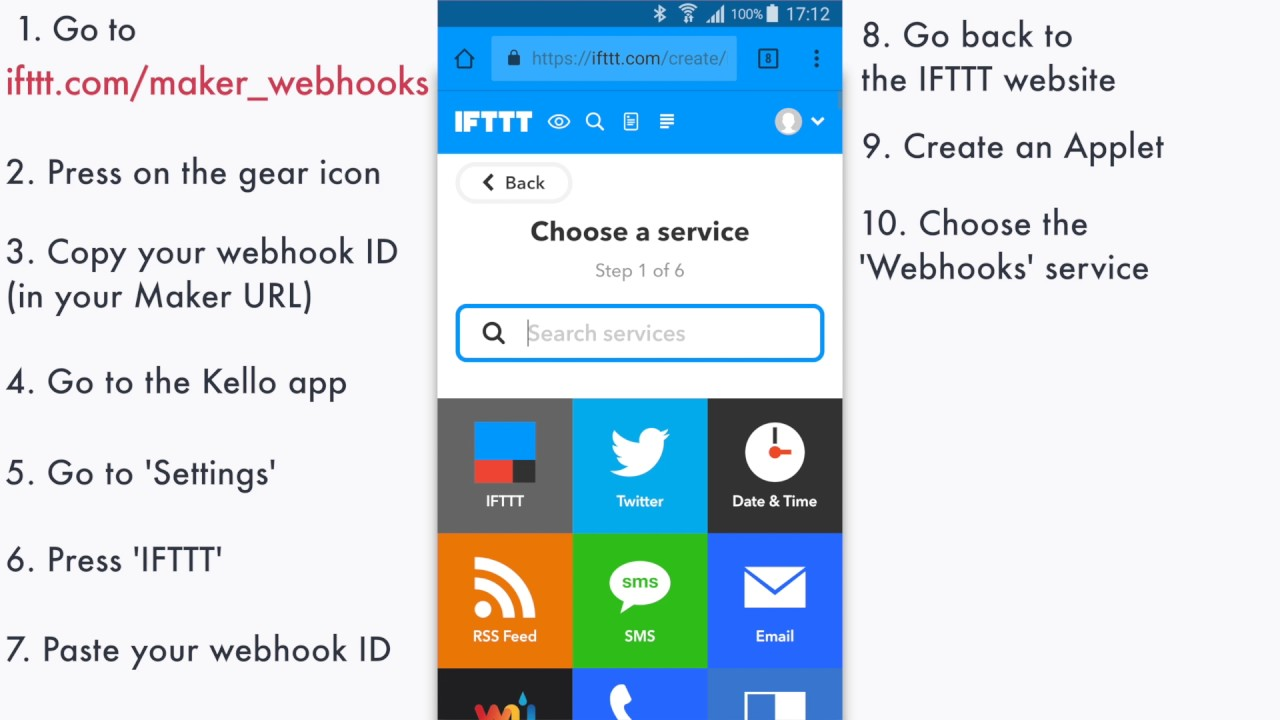How to setup Kello with IFTTT Maker - Kello Support