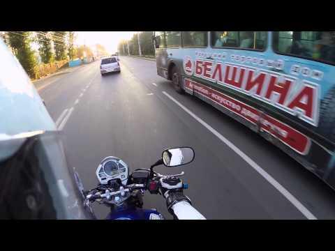 Мото блог. Как ездить на мотоцикле. Часть третья. Повороты