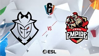 Six Invitational 2019 - Grand Finals - Day Six - G2 Esports vs. Team Empire